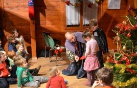 Arbre de Noel pour les enfants du Tennis club de Villebon 2012