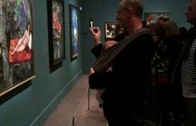 Première expo avec papa et maman. Chagall musée du Luxembourg