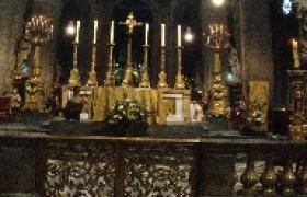 Première visite d\'une église. Saint-Sulpice