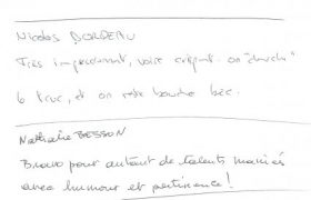 Commentaires clients Antesys 0