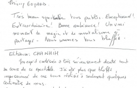 Commentaires clients Antesys 2