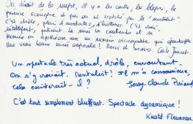 Commentaires soiree evenementielle Philips au Renaissance de Saint Cloud (1)