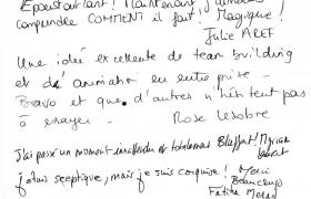 Commentaires soiree evenementielle Philips au Renaissance de Saint Cloud (2)