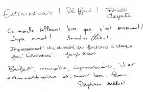 Commentaires soiree evenementielle Philips au Renaissance de Saint Cloud (3)