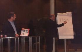 Convention Mattel à Barcelone - Magie et mentalisme