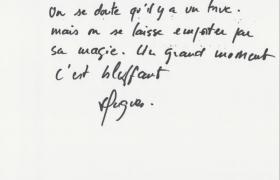 Critiques et commentaires Servyr du magicien mentaliste Xavier Nicolas chez Chateauform (12)