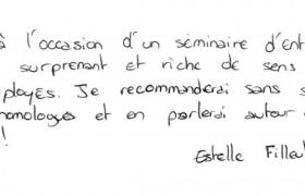 Commentaires Mentalisme et management par Xavier Nicolas - Estelle Filleul - SNCF