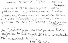 Critiques conference Orange Mentalisme et management par le mentaliste Xavier Nicolas (1)