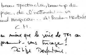 Critique EDF du magicien mentaliste Philippe Desfontaines