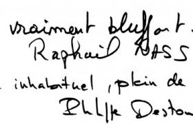 Critique EDF du magicien mentaliste Philippe Destombes