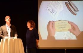 Spectacle de mentalisme Remue Meninges au theatre de Forge les bains (30)