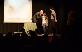 Spectacle de mentalisme Remue Meninges au theatre de Forge les bains (54)