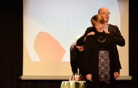 Spectacle de mentalisme Remue Meninges au theatre de Forge les bains (56)