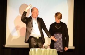Spectacle de mentalisme Remue Meninges au theatre de Forge les bains (59)