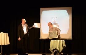 Spectacle de mentalisme Remue Meninges au theatre de Forge les bains (8)