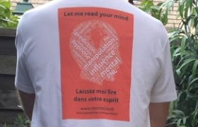 Tee shirt Mentaliste Orange Xavier Nicolas