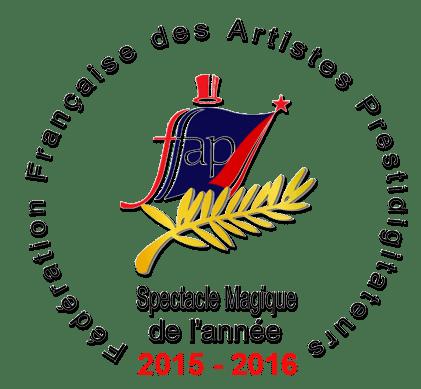 Logo spectacle magique de l'annee 2015 - 2016