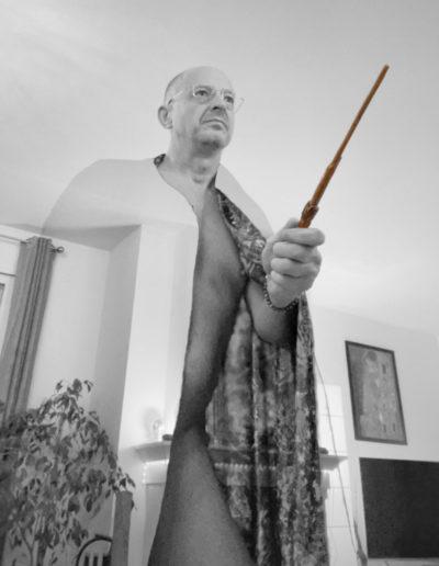 Magicien nu - Apoilcontrelecovid